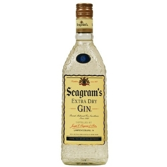 SEAGRAMS EXTRA DRY 375ML