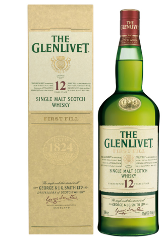 THE GLENLIVET 12 YEARS 750ML