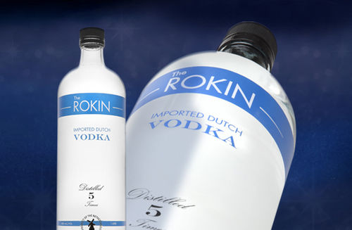 THE ROKIN VODKA 1.0L