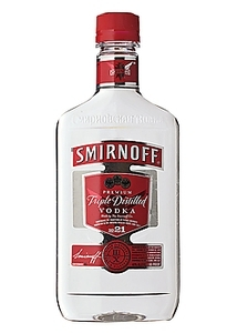 SMIRNOFF 80 VODKA 375ML