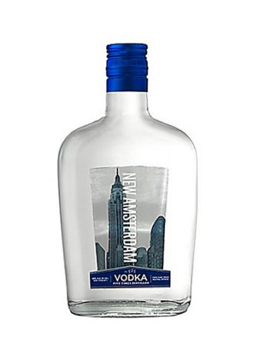 NEW AMSTERDAM VODKA 375ML