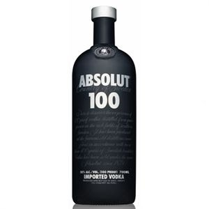 ABSOLUT 100 PROOF SWEDEN VODKA 750ML