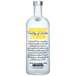 ABSOLUT CITRON VODKA 50ML