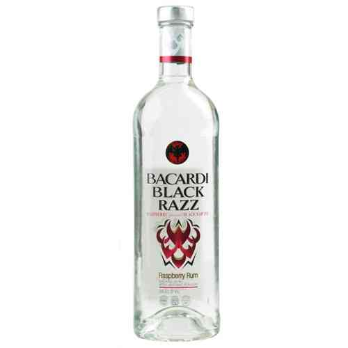 BACARDI BLACK RAZZ  50ML