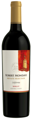 ROBERT MONDAVI MERLOT  PRIVATE SELECTION 750ML