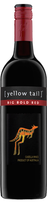 YELLOW TAIL BIG BOLD RED  750ML