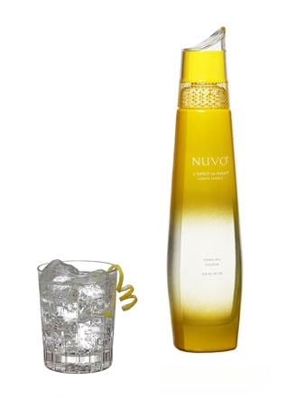 NUVO LEMON SORBET 750ML