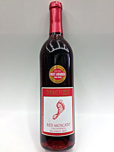 BAREFOOT RED MOSCATO 750ML