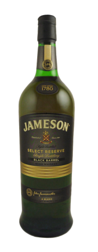 JAMESON BLACK BARREL  IRSH WHISKEY 1L