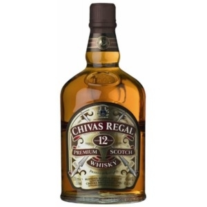 CHIVAS REGAL 12 YEARS OLD SCHOTCH WHISKEY 1.75L