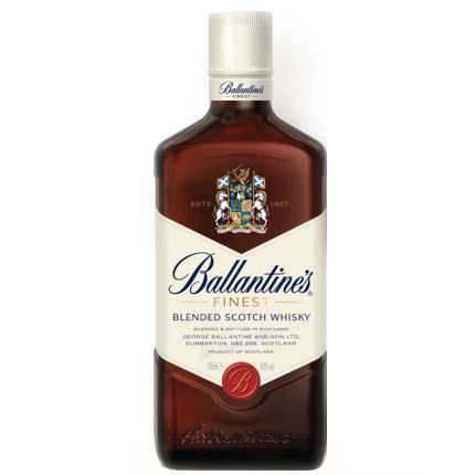 BALLANTINES FINEST SCOTCH WHISKEY 750ML