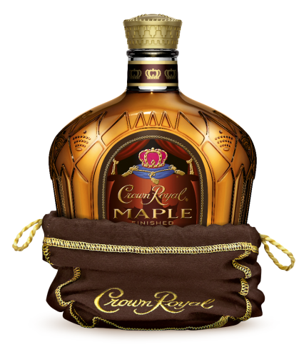 CROWN ROYAL MAPLE FINISHED CANADIAN WHIISKEY 1L