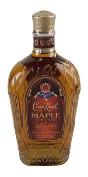 CROWN ROYAL MAPLE FINISHED CANADIAN WHIISKEY 375ML