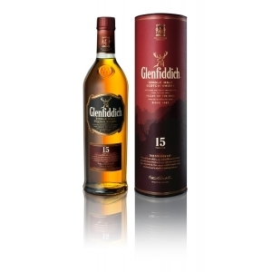 GLENFIDDICH SCOTCH WHISKEY 15 YEARS 750ML