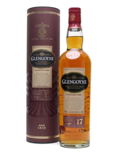 GLENGOYNE HIGHLAND SINGLE MALT SCOTCH WHISKEY 17 YEARS 750ML