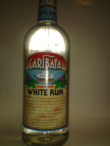 CARIBAYA WHITE RUM 750ML