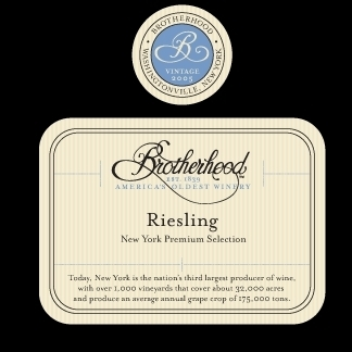 BROTHERHOOD RIESLING 750ML