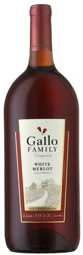 GALLO FAMILY WHITE MERLOT 1.5L