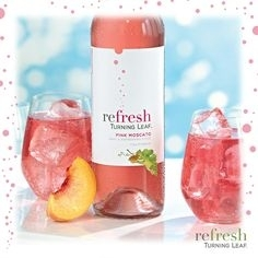 REFRESH PINK MOSCATO TURNING LEAF 750ML
