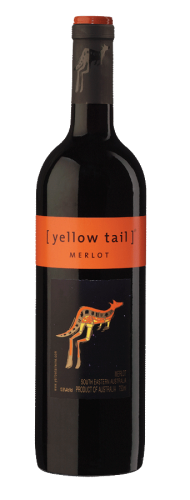 YELLOW TAIL MERLOT 750ML
