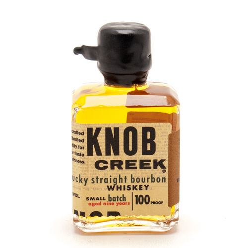 KNOB CREEK KENTUCKY STRAIGHT BOURBON WHISKEY 50ML