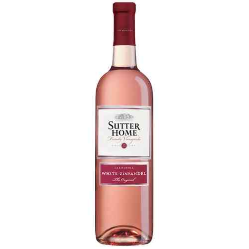 SUTTER HOME WHITE ZINFANDELE 750ML