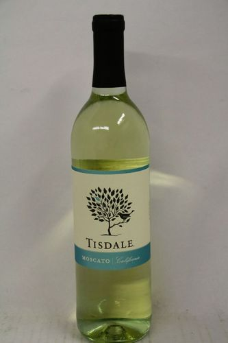 TISDALE MOSCATO 750ML