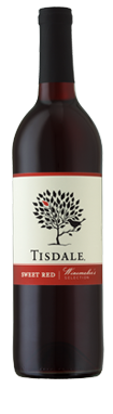 TISDALE SWEET RED 750ML