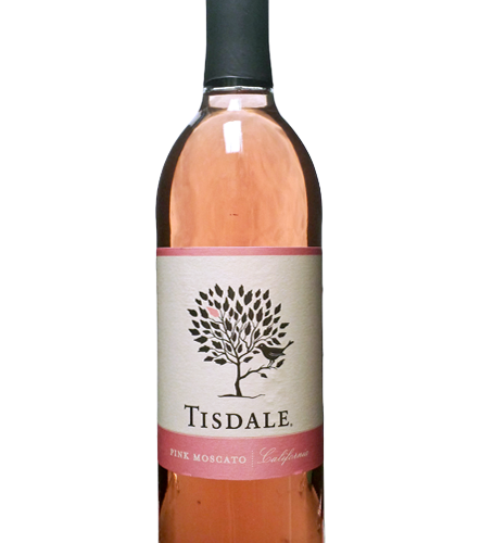 TISDALE PINK MOSCATO 750ML