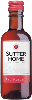 SUTTER HOME RED MOSCTO 187ML