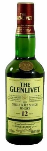 THE GLENLIVET 12 YEARS 375ML