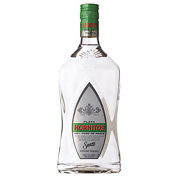HORNITOS SILVER TEQUILA 375ML
