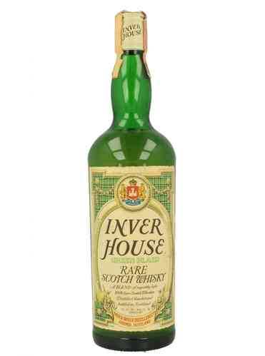 INVER HOUSE GREEN PLAID 750ML