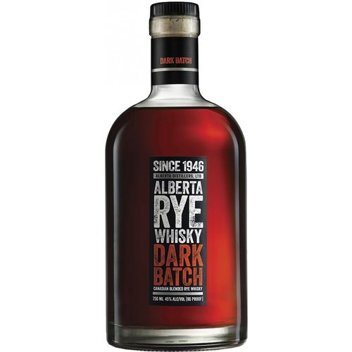ALBERTA RYE WHISKY DARK BATCH 750ML