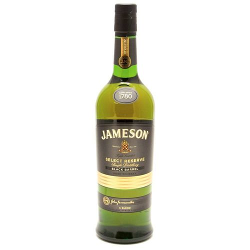 JAMESON BLACK BARREL RISH WHISKEY 750ML