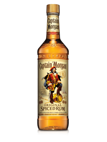 CAPTAIN MORGAN ORIGINAL SPICED RUM 1L
