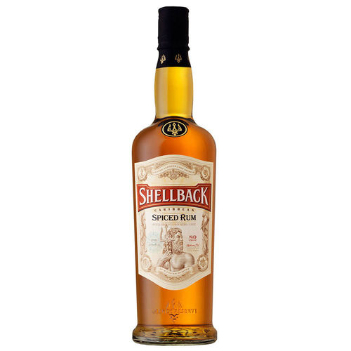 SHELLBACK SPICED RUM 750ML