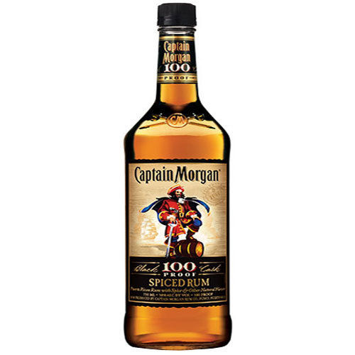 CAPTAIN MORGAN 100 SPICED RUM 1L