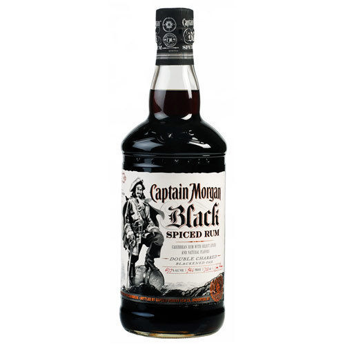 CAPTAIN MORGAN BLACK SPICED RUM 750ML