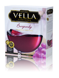 VELLA BURGUNDY 5 LITERS