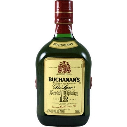 BUCHANANS DELUXE 12 YEAR 750ML