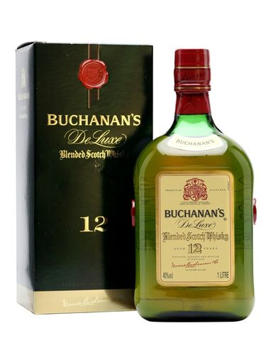 BUCHANANS DELUXE 12 YEAR 1L