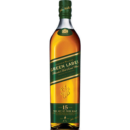 JOHNNIE WALKER GREEN LABEL 15 YEARS 750ML