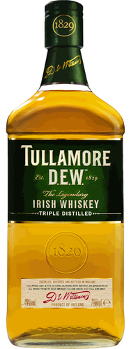 TULLAMORE DEW WHISKEY 750ML
