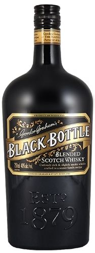 BLACK BOTTLE 750ML