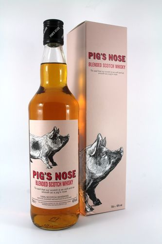 PIGS NOSE WHISKY 750ML