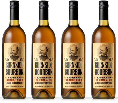 BURNSIDE BOURBON 4 YR BARREL AGED