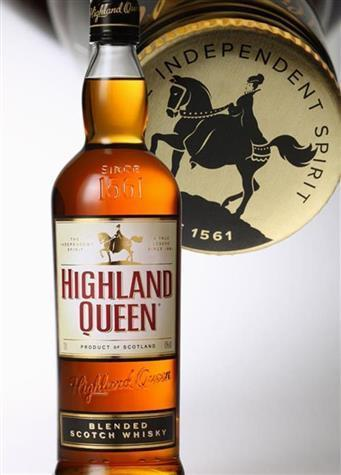 HIGHLAND QUEEN BLENDED SCOTCH WHISKEY 750ML
