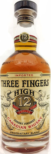 THREE FINGERS  HIGH 12 YEARS