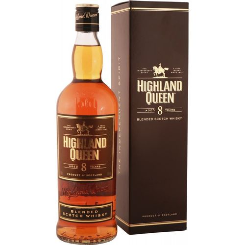 HIGHLAND QUEEN 8 YEARS WHISKEY